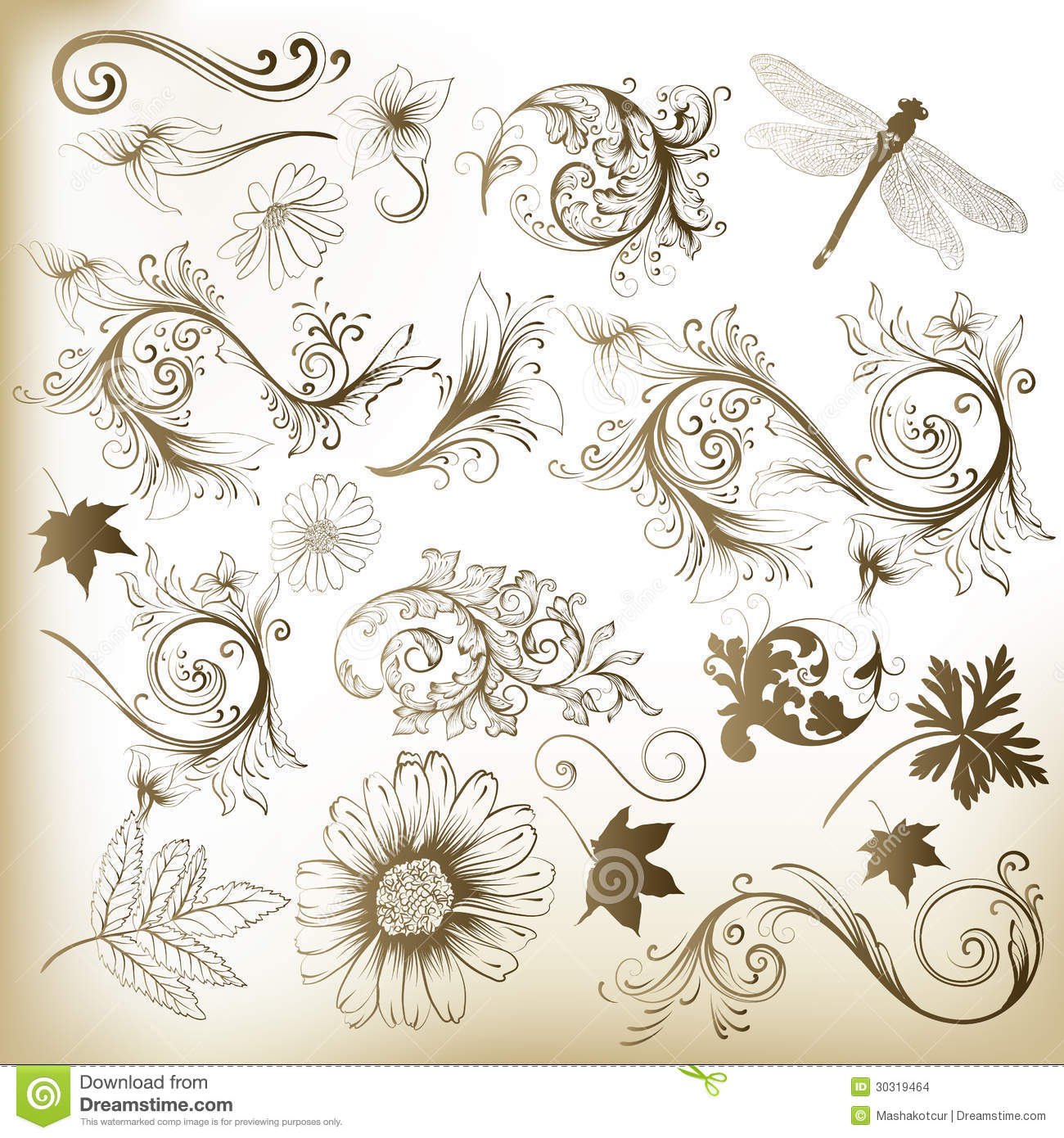 collection of floral design - photo #14