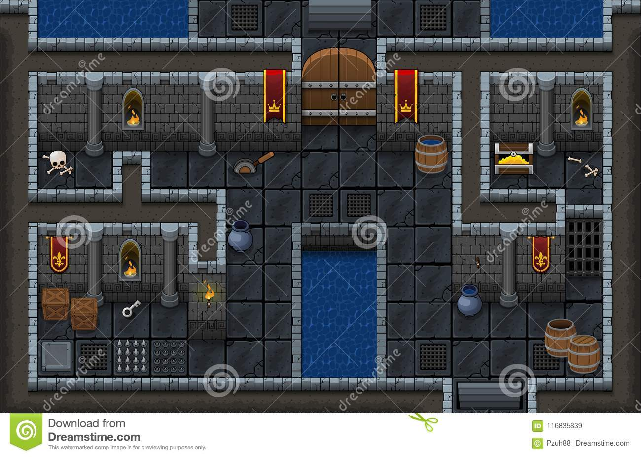 16X16 Tileset gooddesign: farmhouse floor tile
