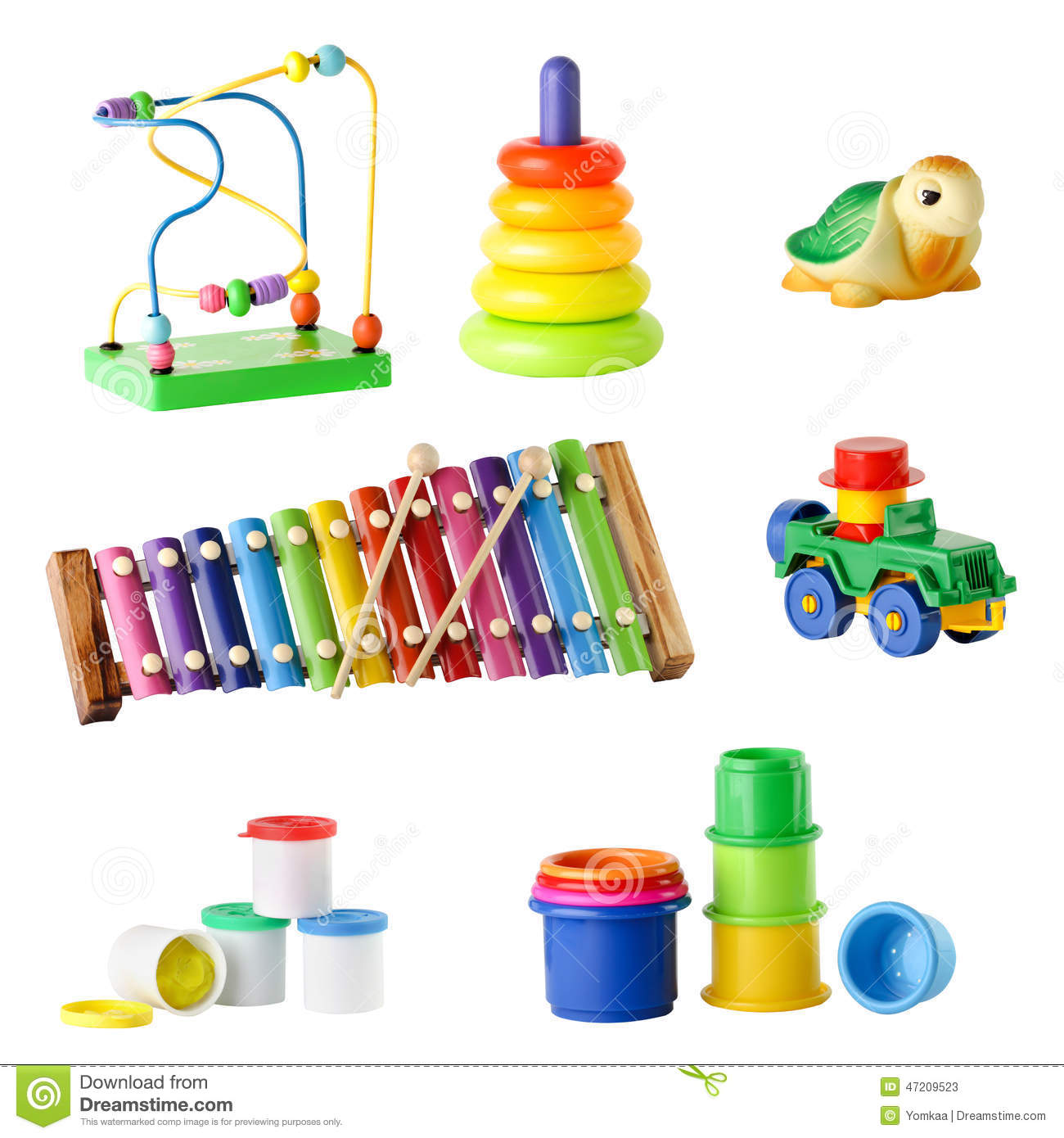 Collection Of Toys 111