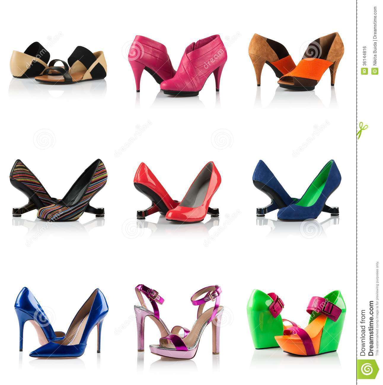 Clothes stores :: Types of womens shoes
