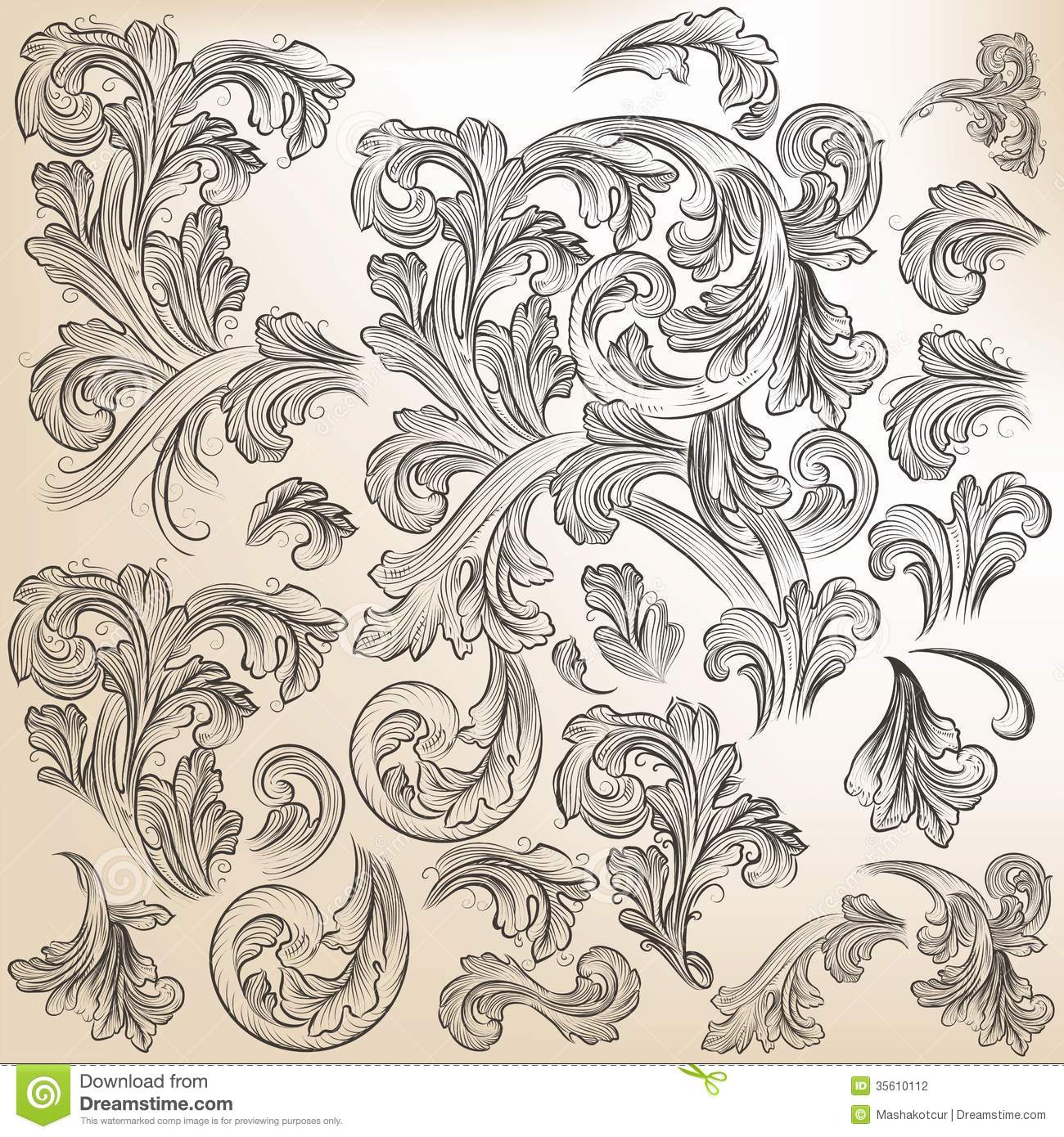 collection of floral design - photo #13