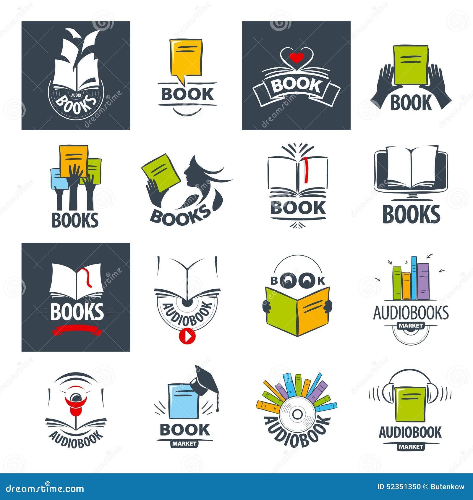 Book logos stock vector image 42714029 - Royalty Free Vector Books Collection Logos