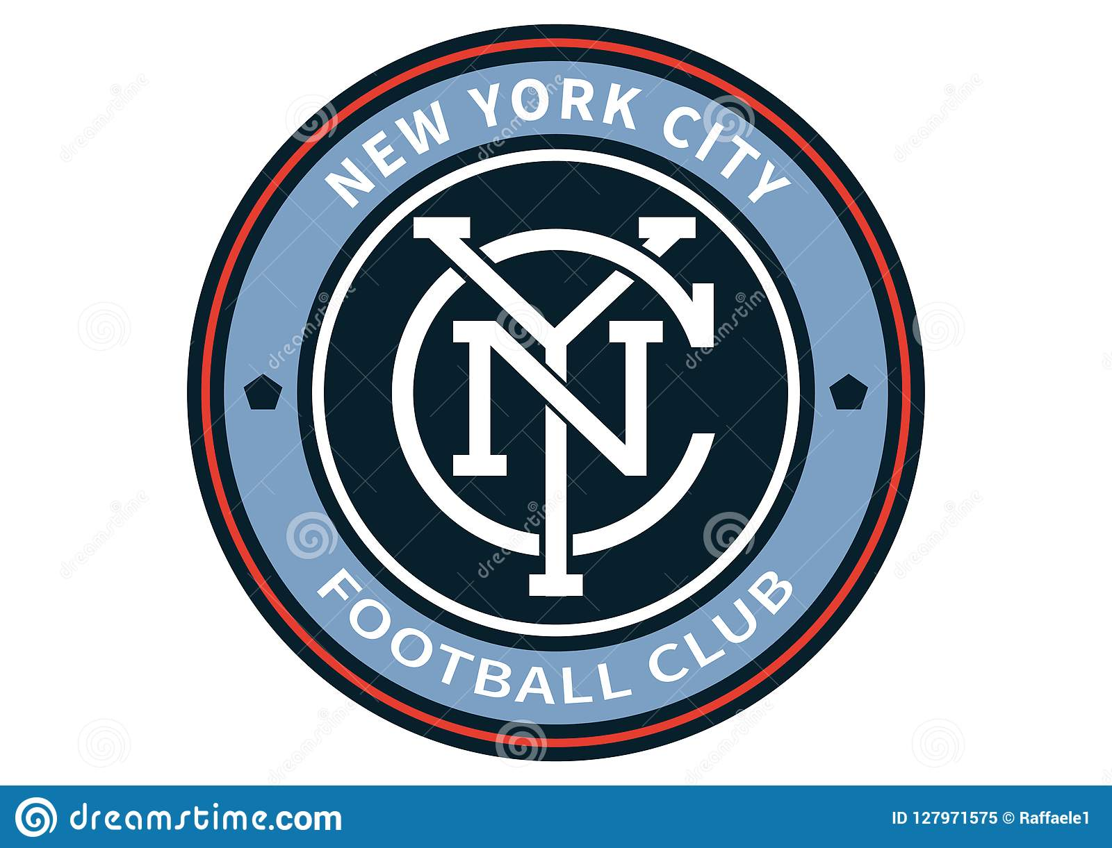 New York City Fc Logo Editorial Image Illustration Of Soccer