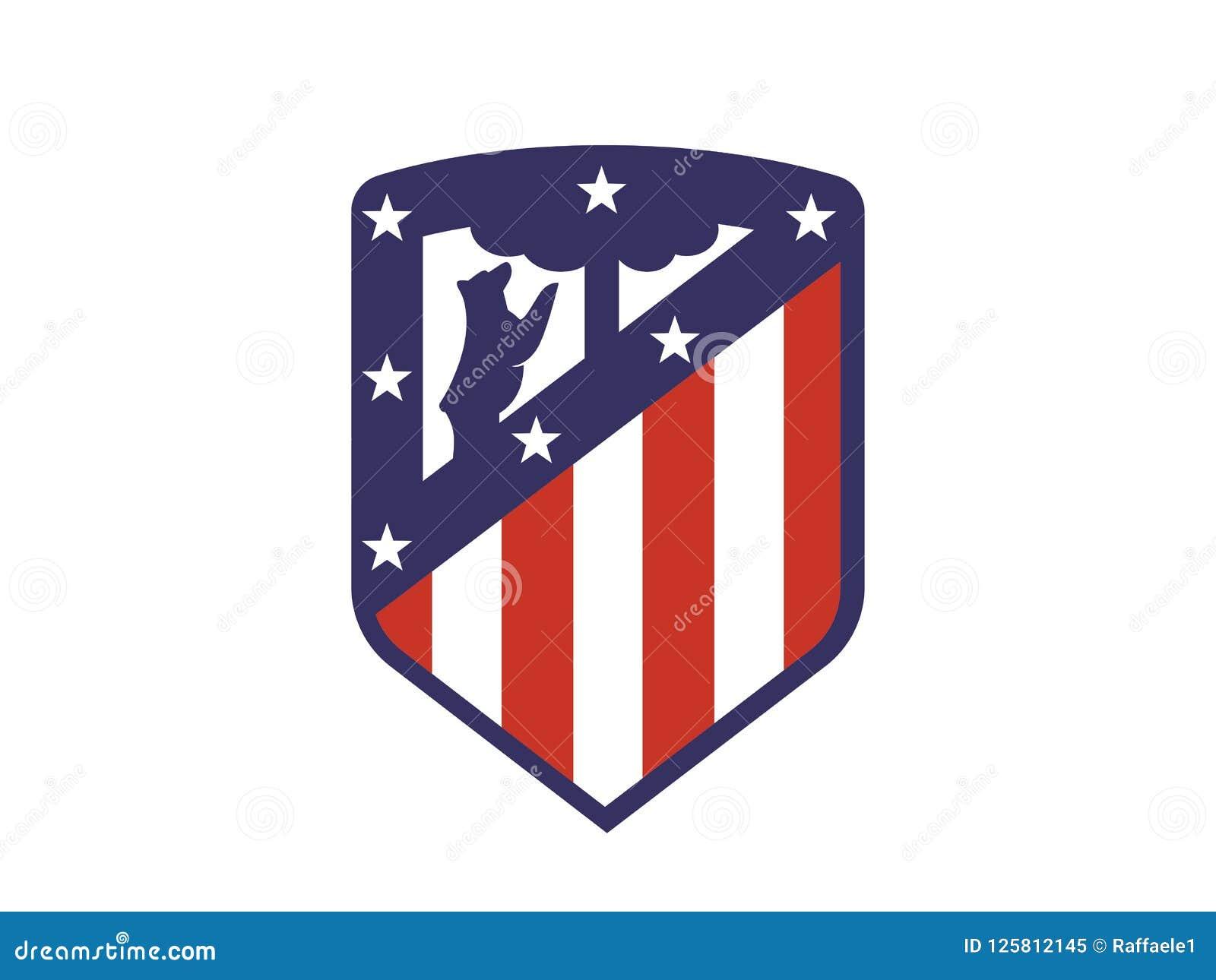 Атлетико мадрид лого