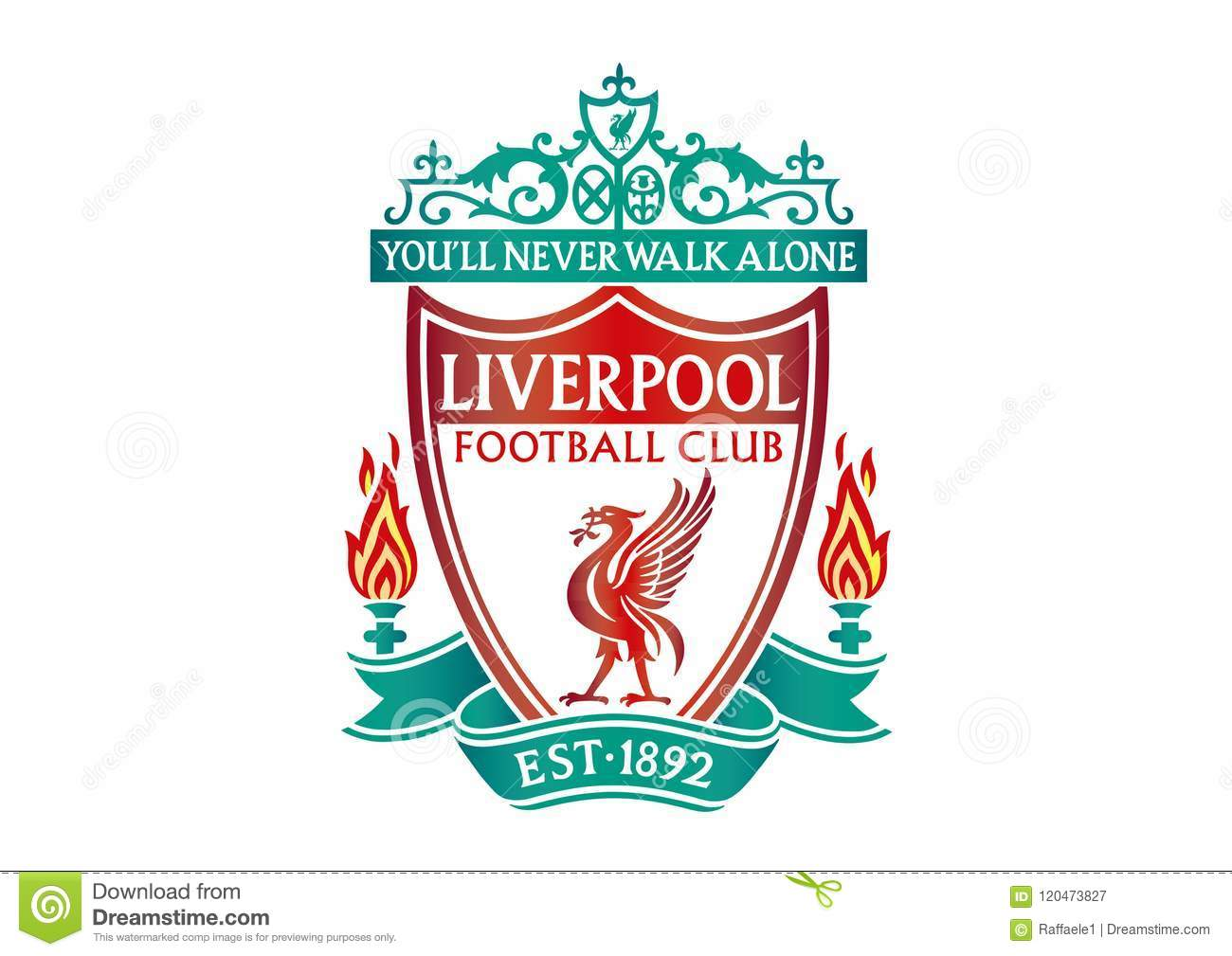 Liverpool Logo Editorial Photography. Illustration Of