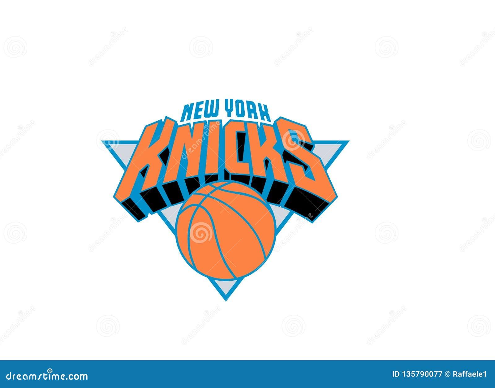 New York Knicks Logo Editorial Photography Illustration Of Famous 135790077