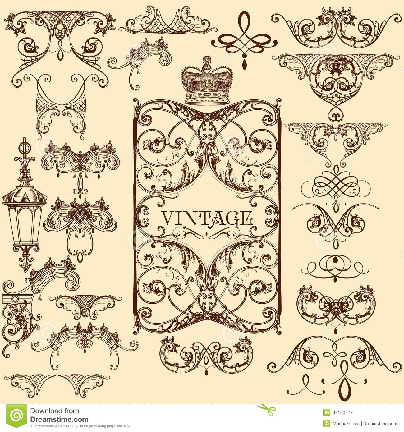 Ornaments and Flourishes - Download Free Vector Art, Stock ...