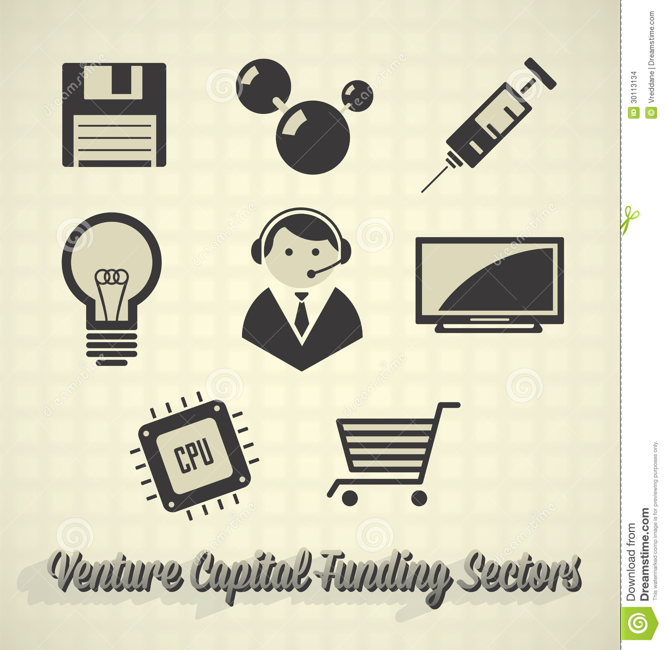 Venture Capital Funding Sectors Stock Images - Image: 30113134 - photo#4