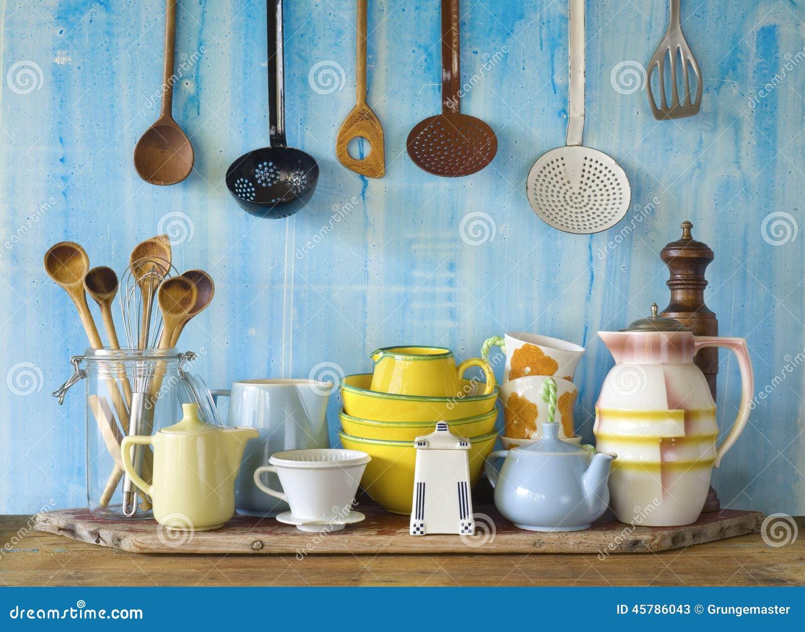 Vintage kitchenware - Collection Of Vintage Kitchenware