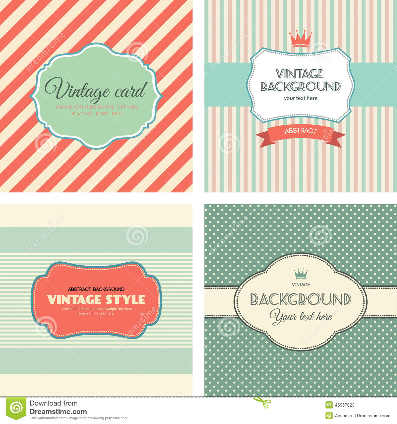 Collection of vintage labels stock vector image 46957023 for Z label templates
