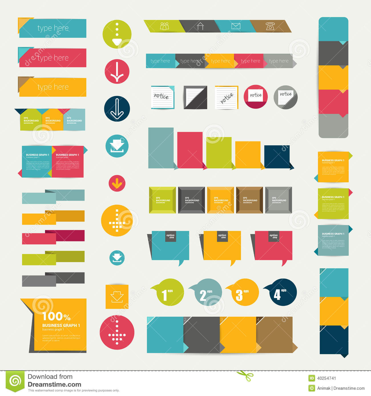 Collections of infographics flat design diagrams stock vector collections of infographics flat design diagrams royalty free illustration ccuart Choice Image