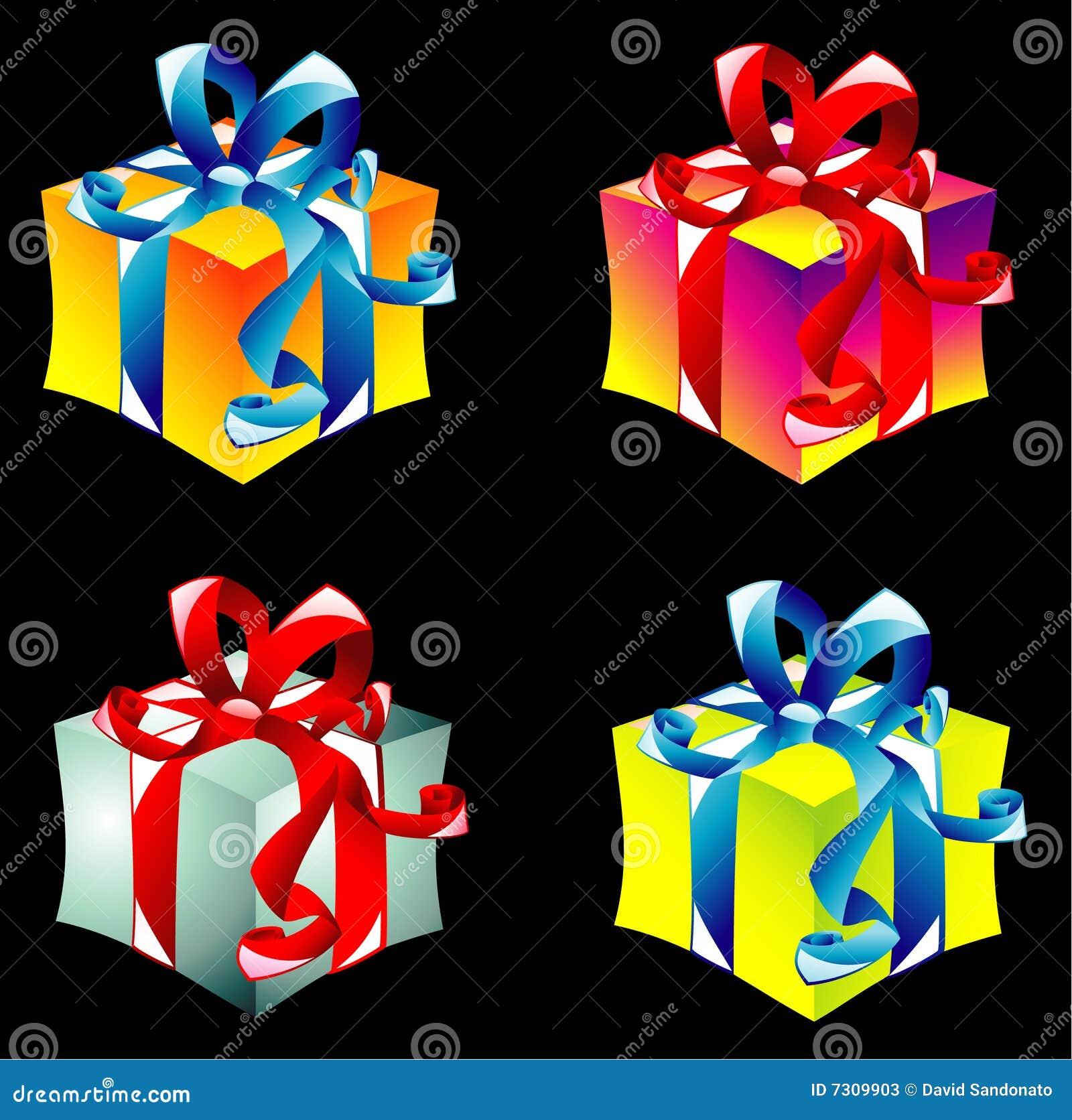 Collecton dei contenitori di regalo