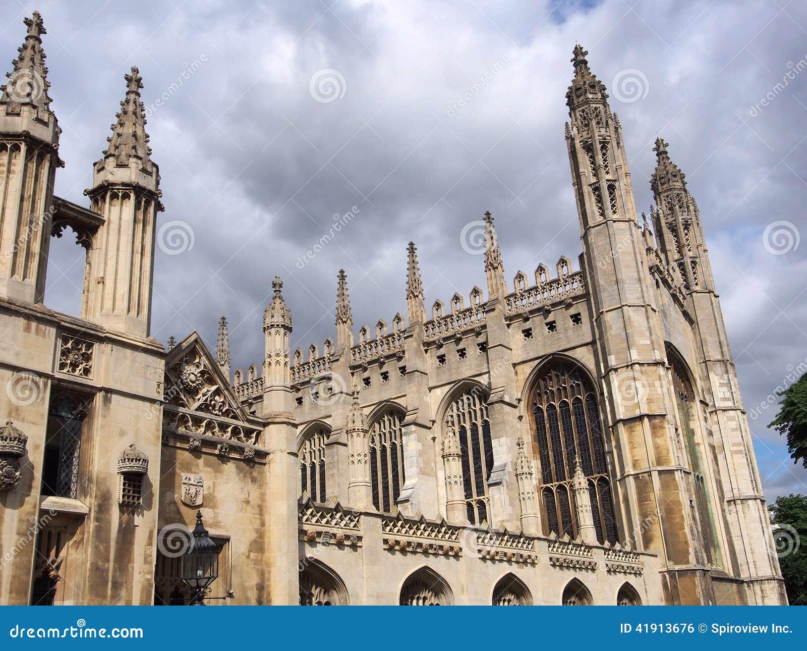College de rey, Universidad de Cambridge