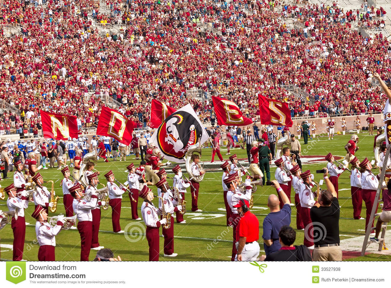 College football game editorial stock photo image of spectators college football game voltagebd Image collections