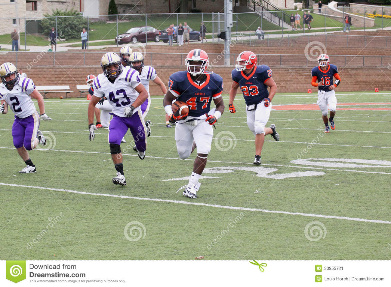 College Football editorial photo. Image of play, sporting ...