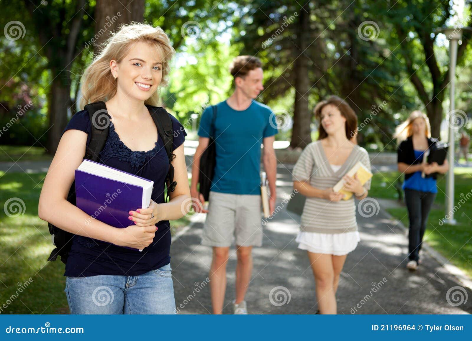 College Girl Portrait