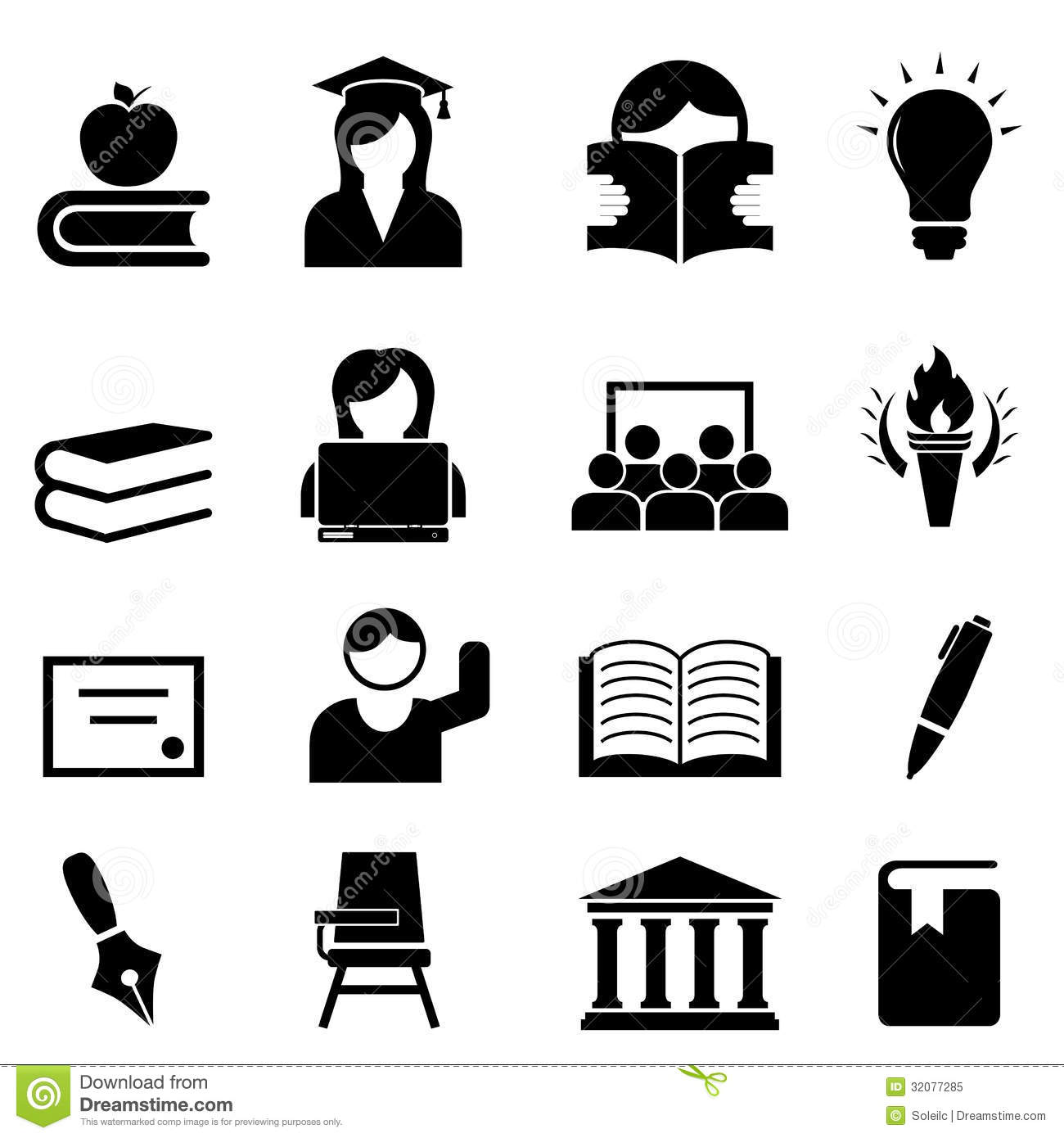 College And Higher Education Stock Vector - Illustration ...