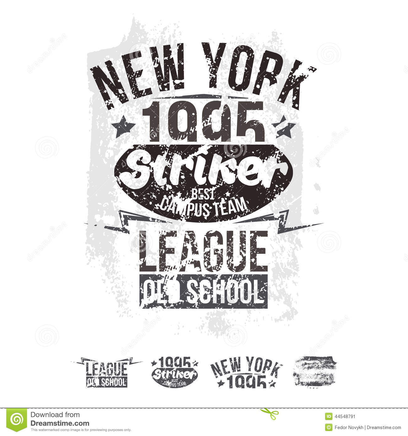 T Shirt Design York: College New York Team Rugby Retro Emblem And Design