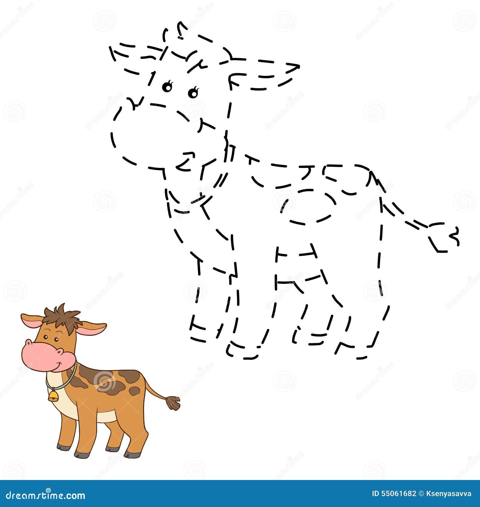 Colleghi i punti (mucca)