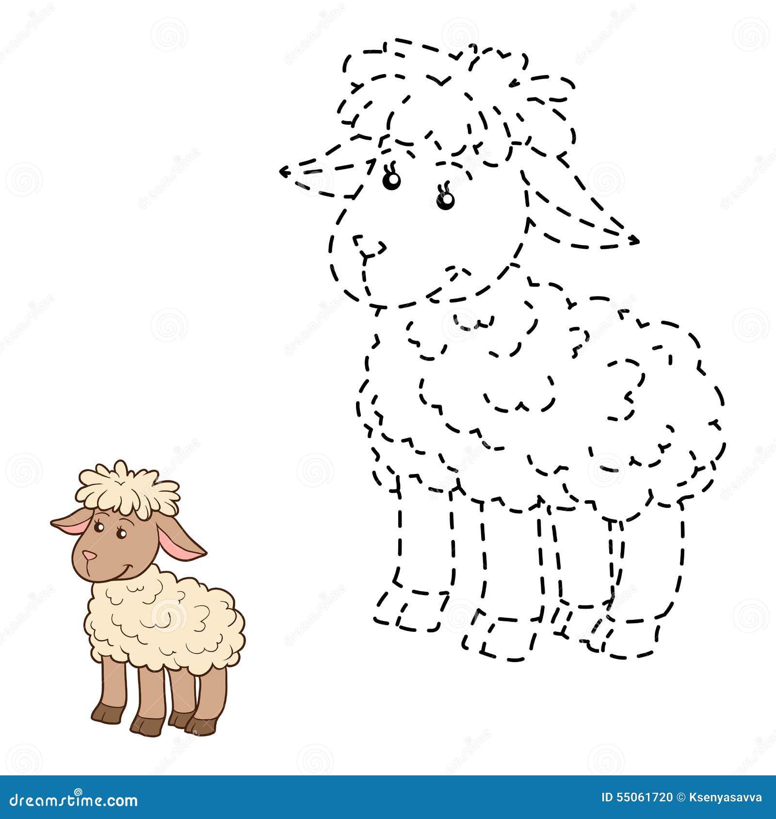 Colleghi i punti (pecore)