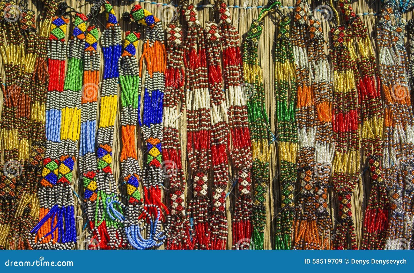 collier perle afrique du sud