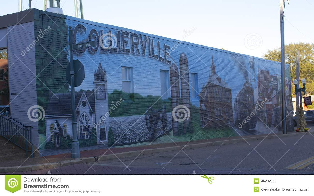 Collierville tennessee colorful and unique mural editorial for Mural unique