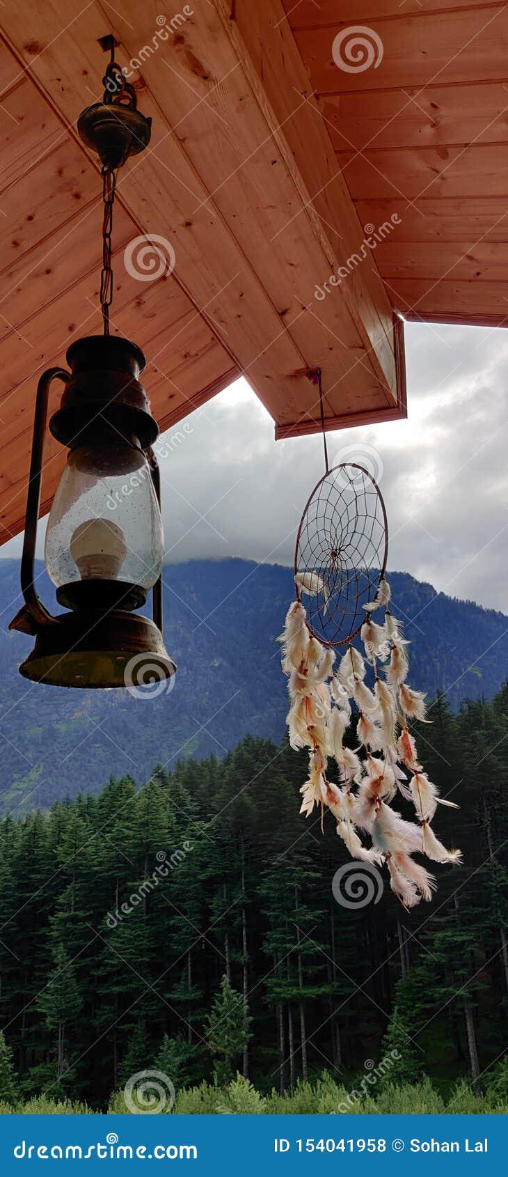 Colline Manali Himachal Pradesh dell Himalaya