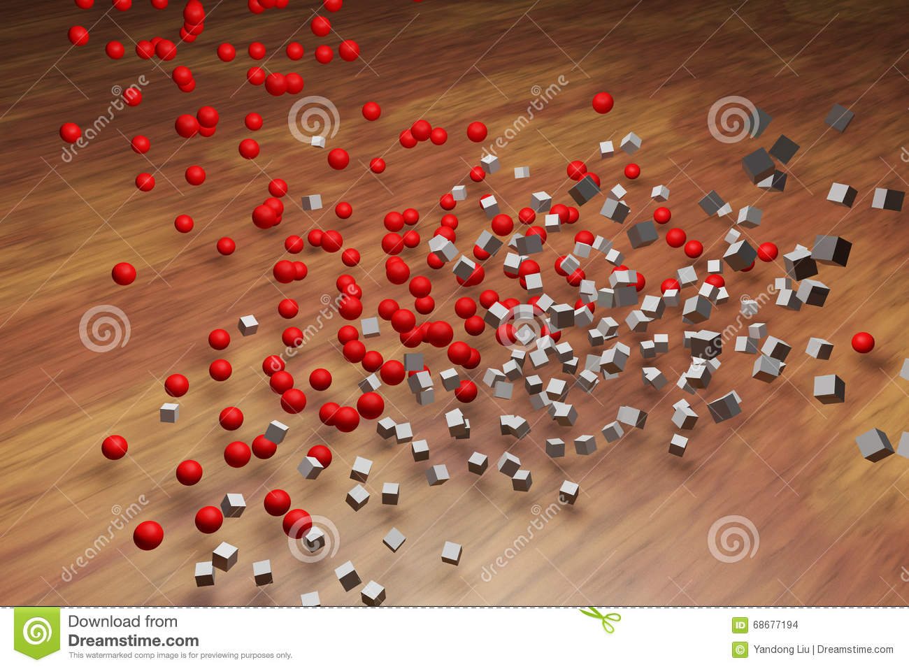 Collisions between objects stock illustration ...