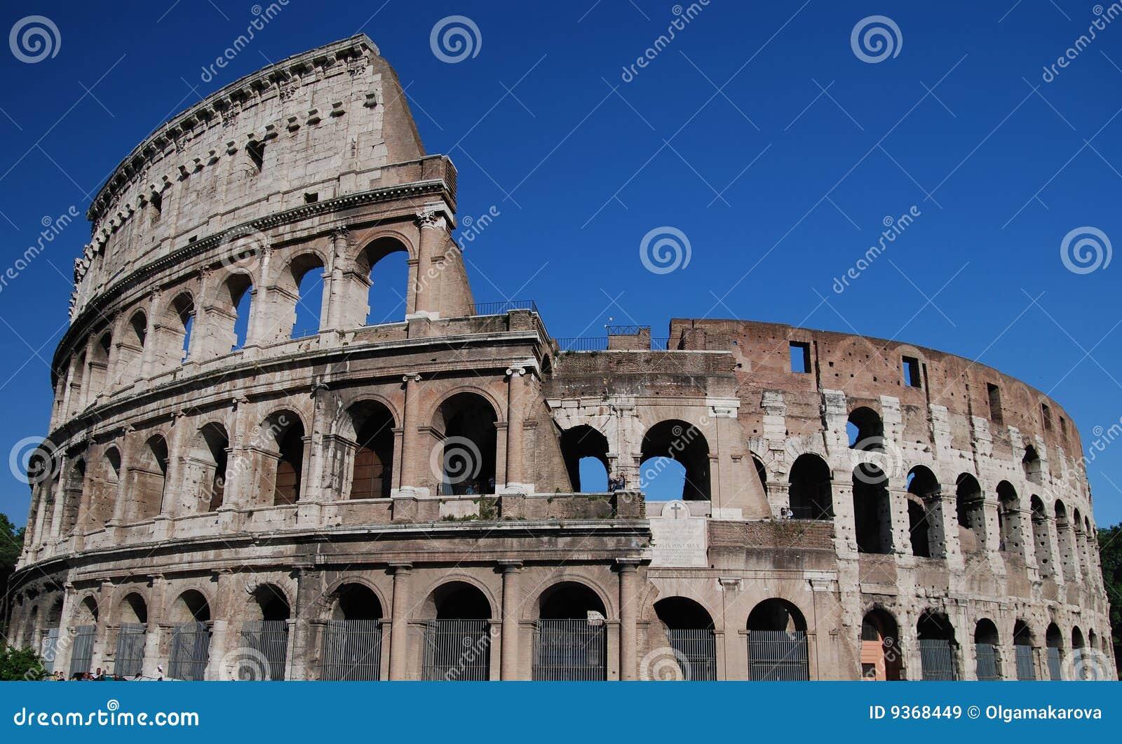 Colloseum en Roma, Italia