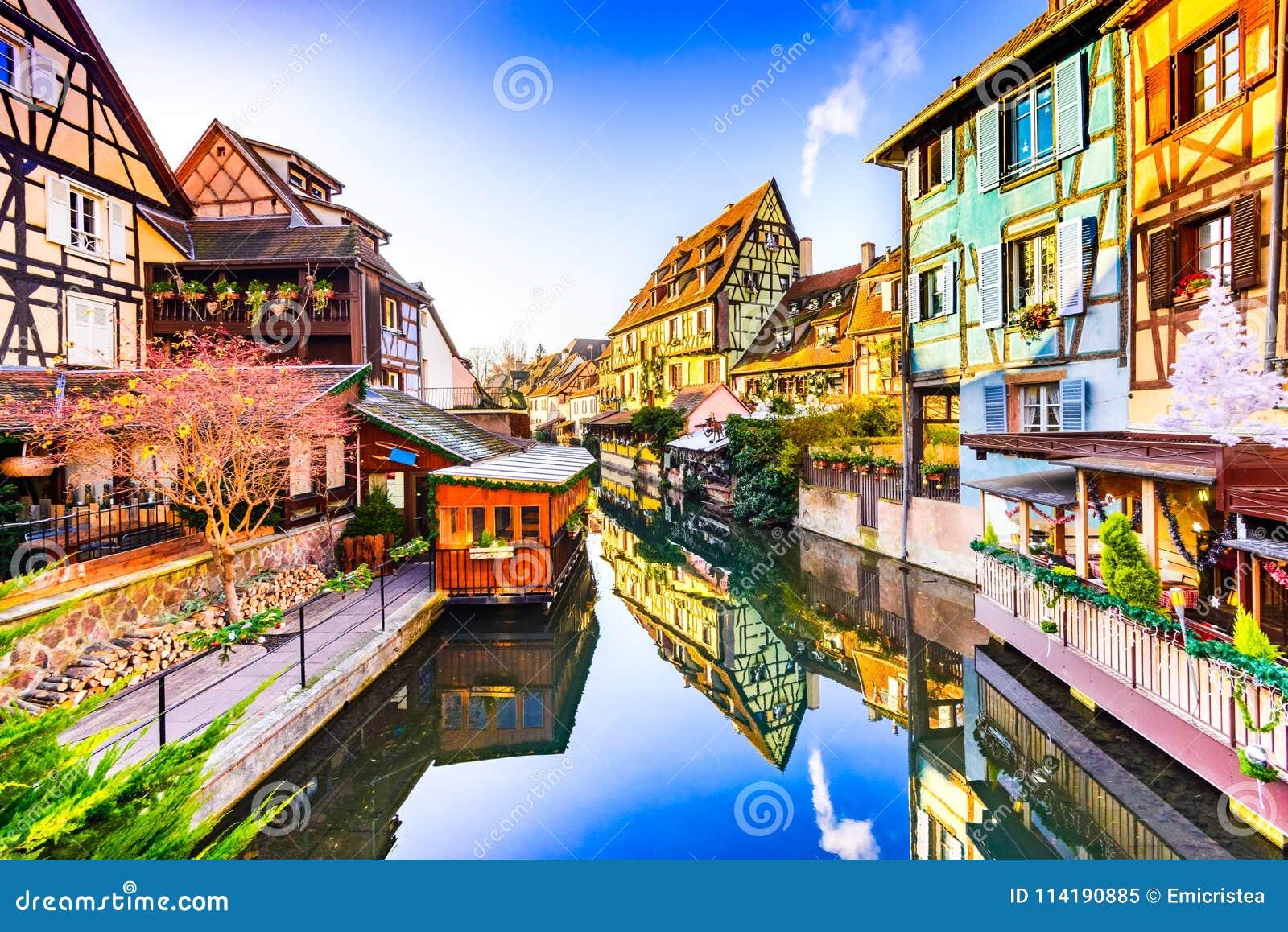 Colmar, Alsacia, Francia - poca Venecia