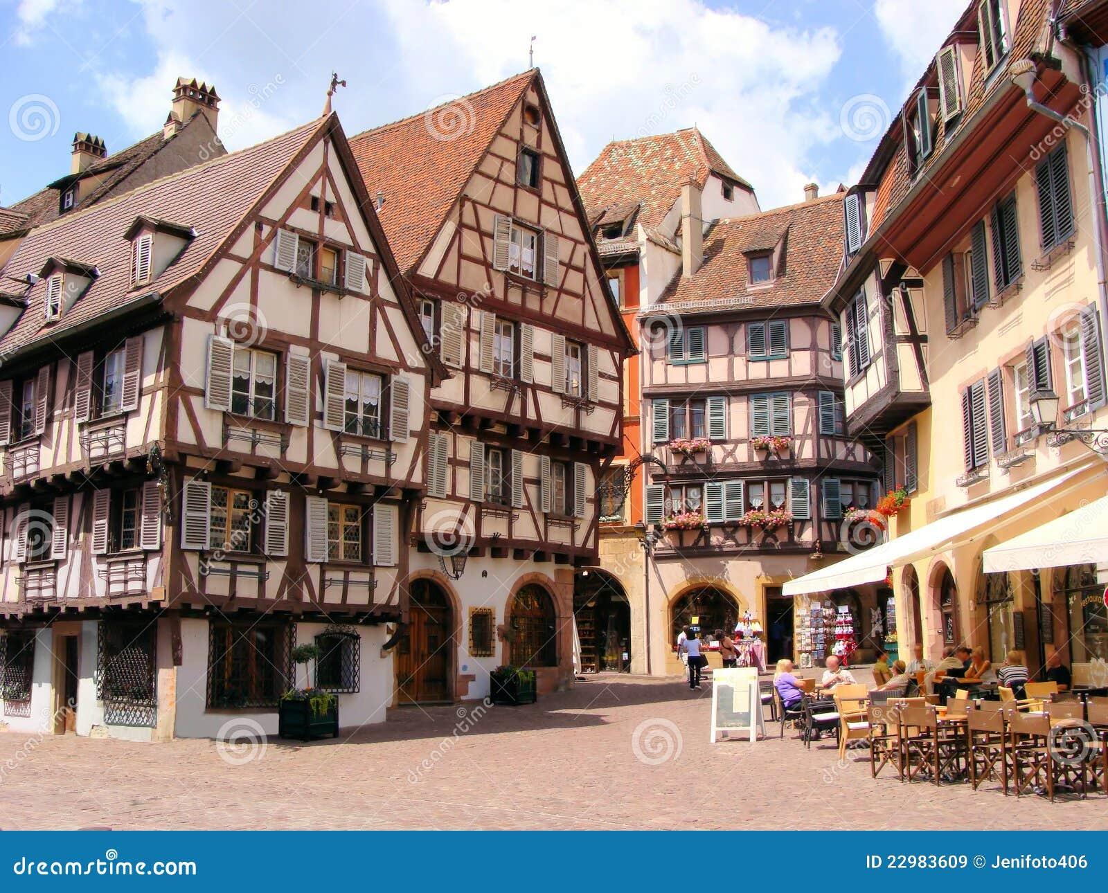 Colmar Colmar Frankrijk Stock Afbeelding Afbeelding Bestaande