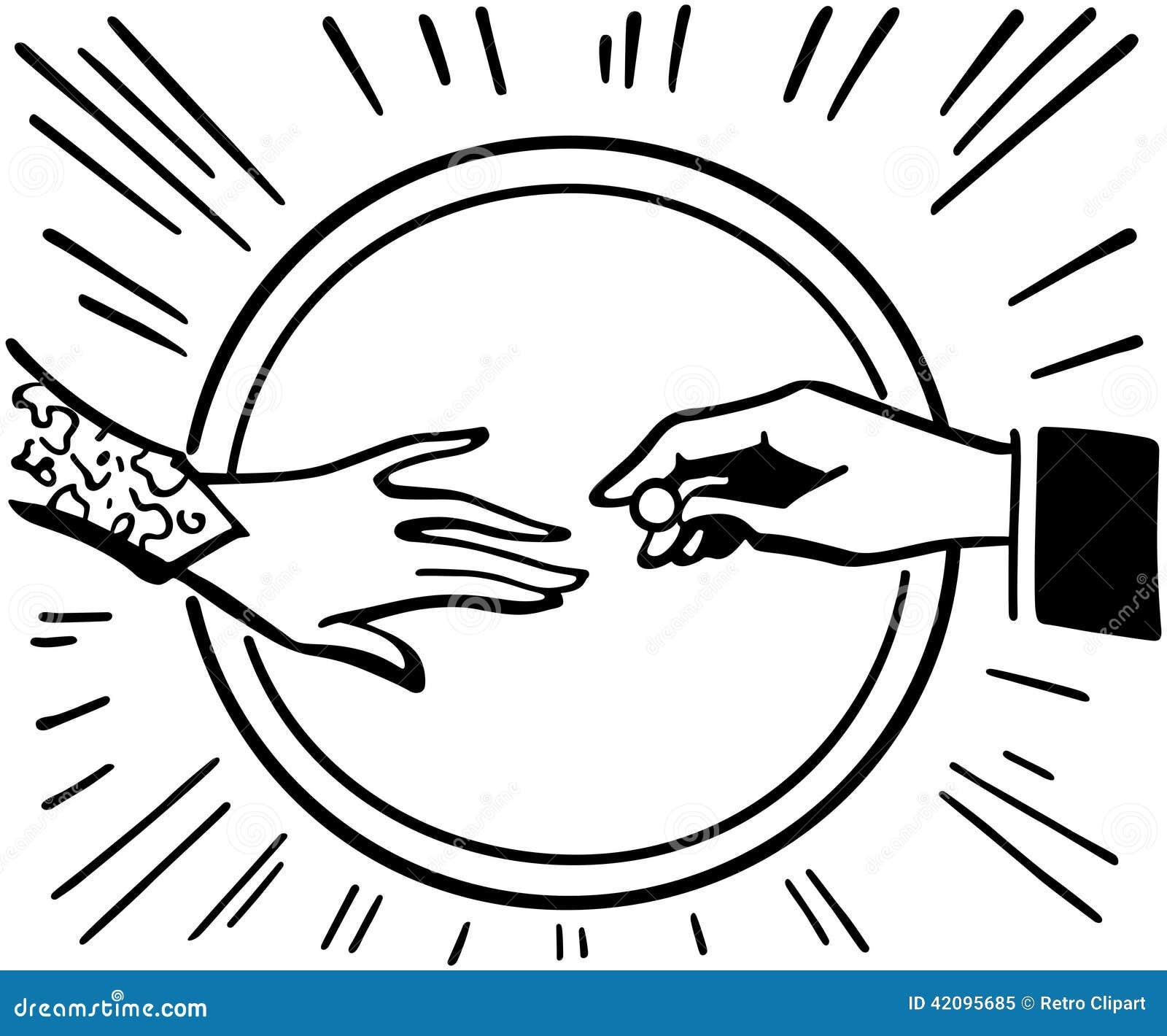 Colocando a aliana de casamento ilustrao do vetor ilustrao de colocando a aliana de casamento altavistaventures Image collections