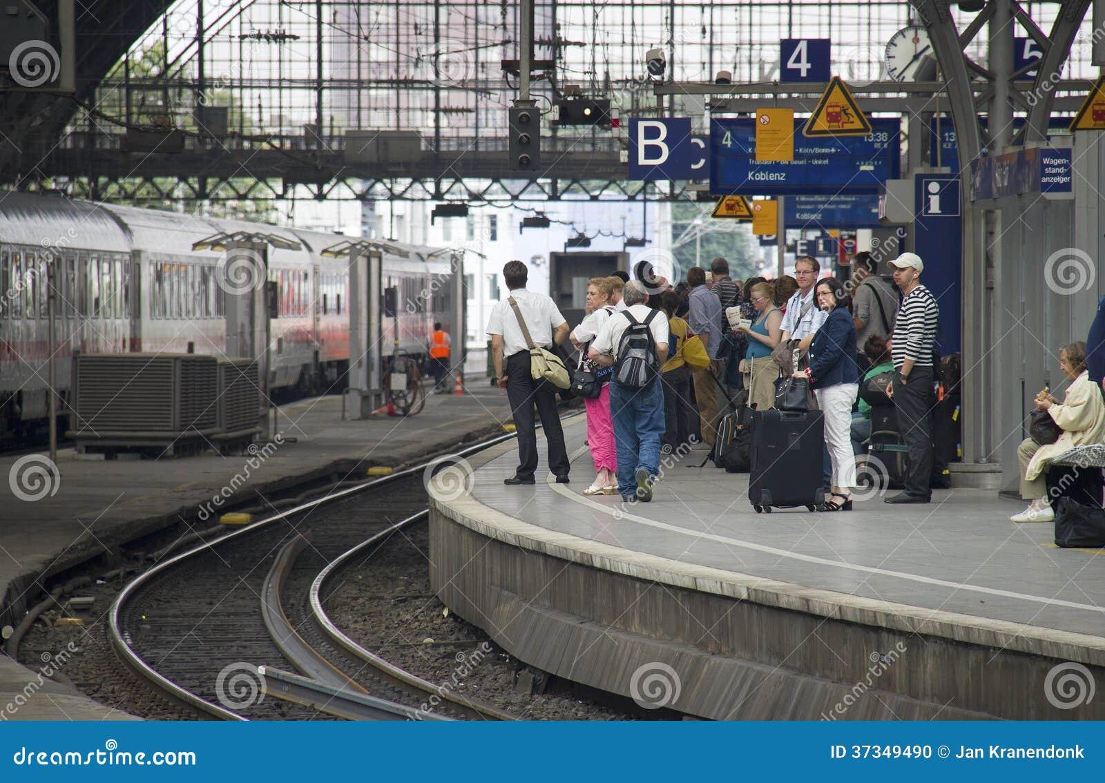 Cologne järnvägsstation, Tyskland