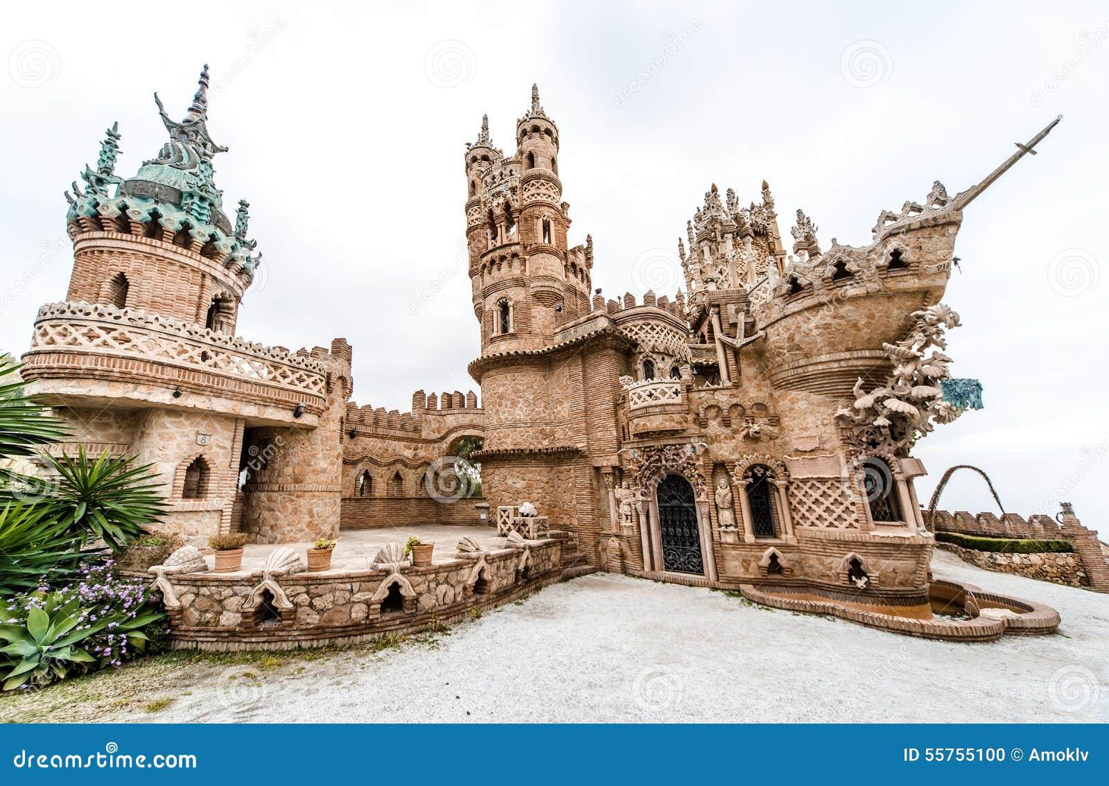 ... Christopher Columbus. Benalmadena town. Province of Malaga. Andalusia