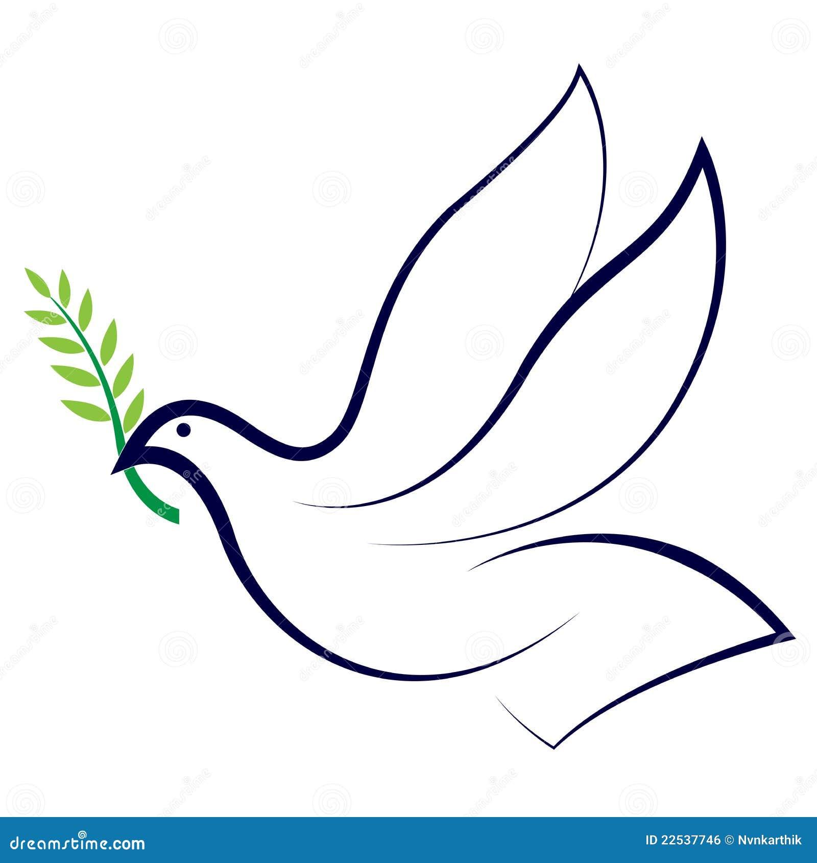 Colombe de paix
