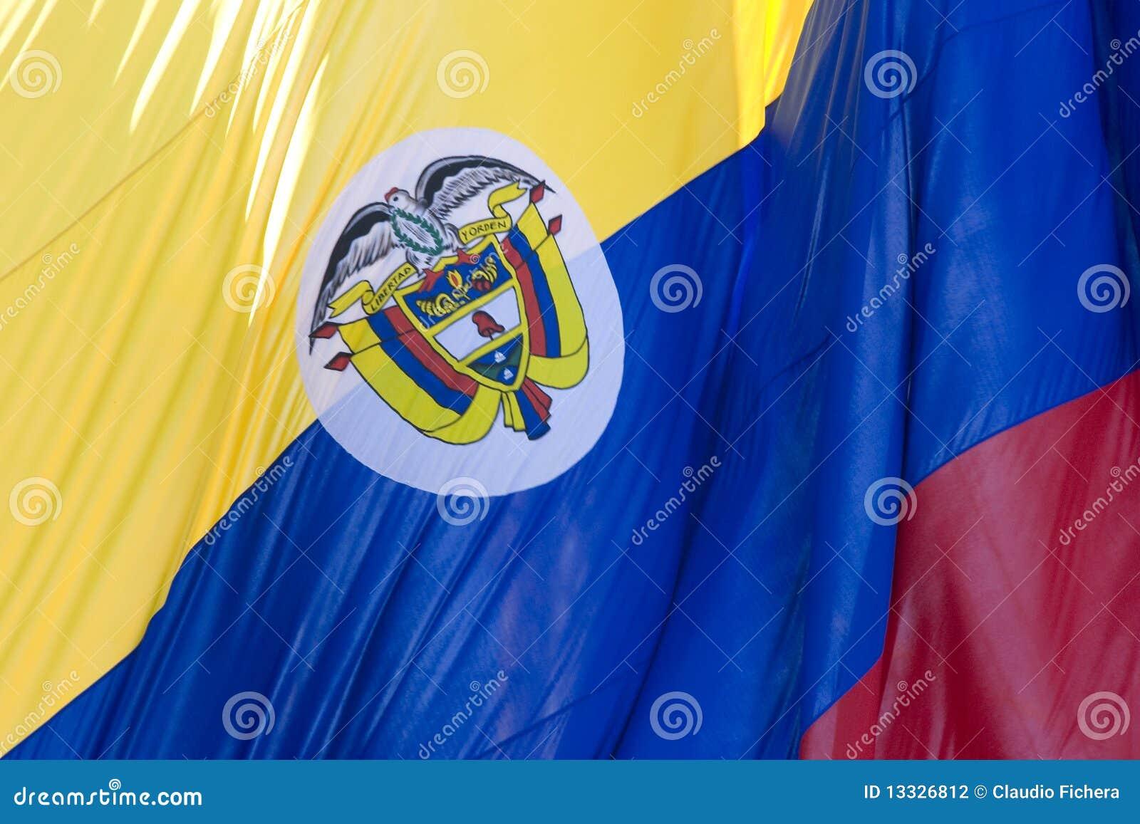Colombia flaga