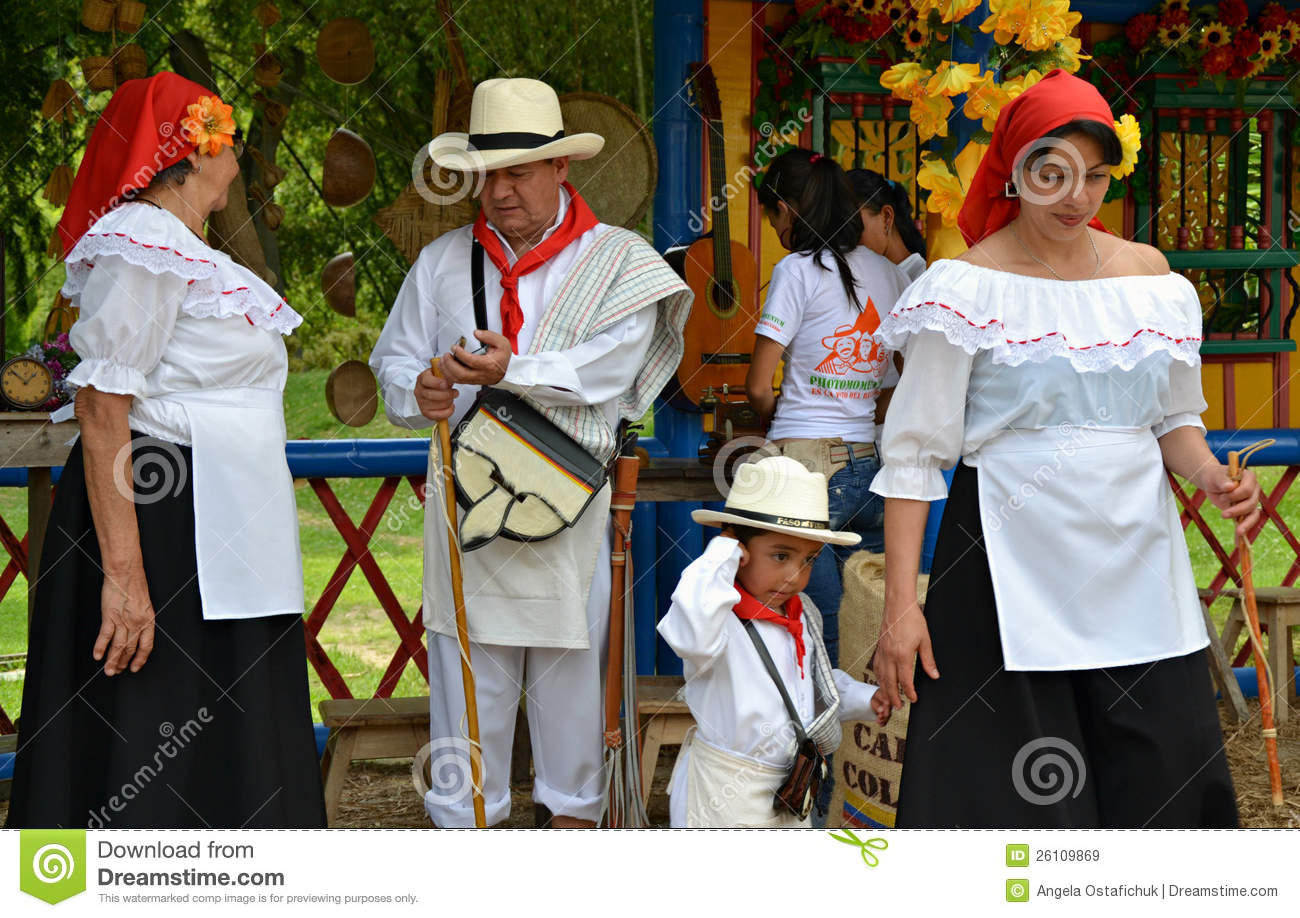 Colombia Traditional Clothing