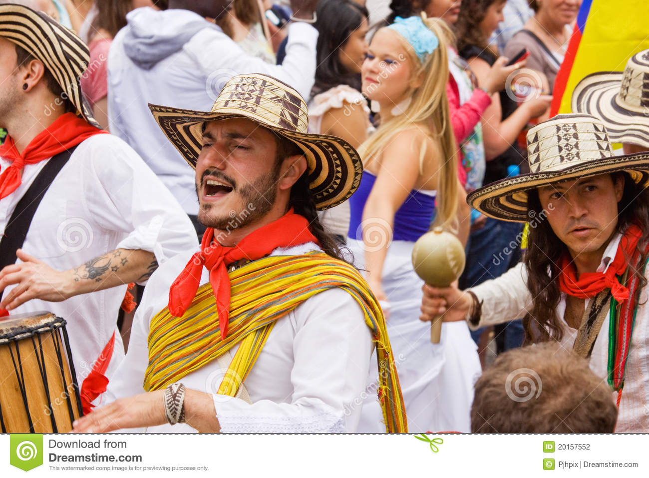 Colombians at Carnival