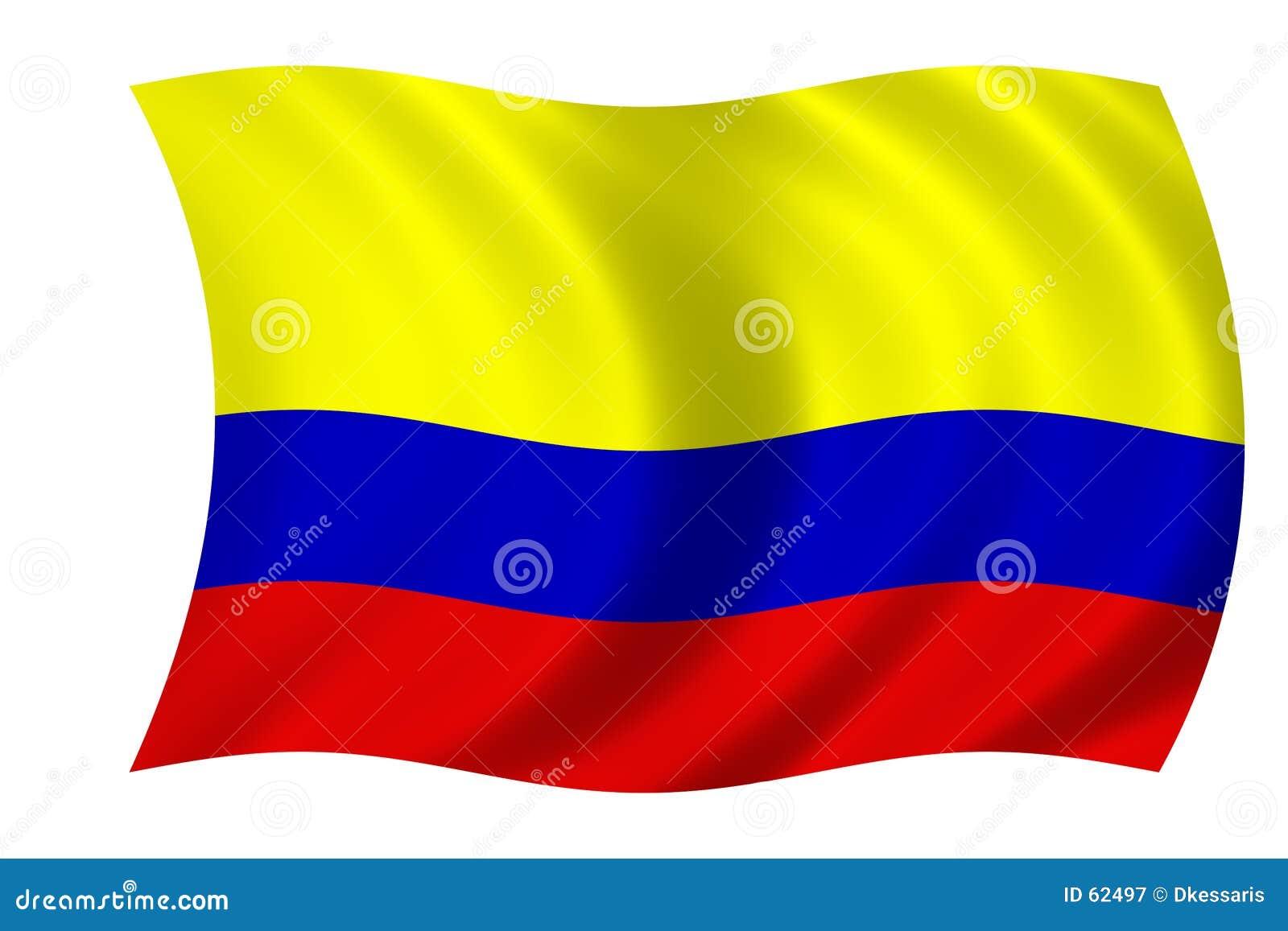 Colombiansk flagga