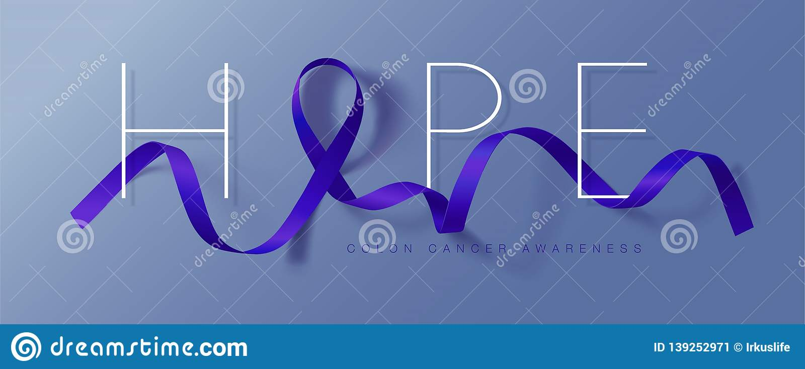 Colon Cancer Awareness Calligraphy Poster Design Realistic Dark Blue Ribbon March Is Cancer Awareness Month Vector Stock Illustration Illustration Of Hope Graphic 139252971