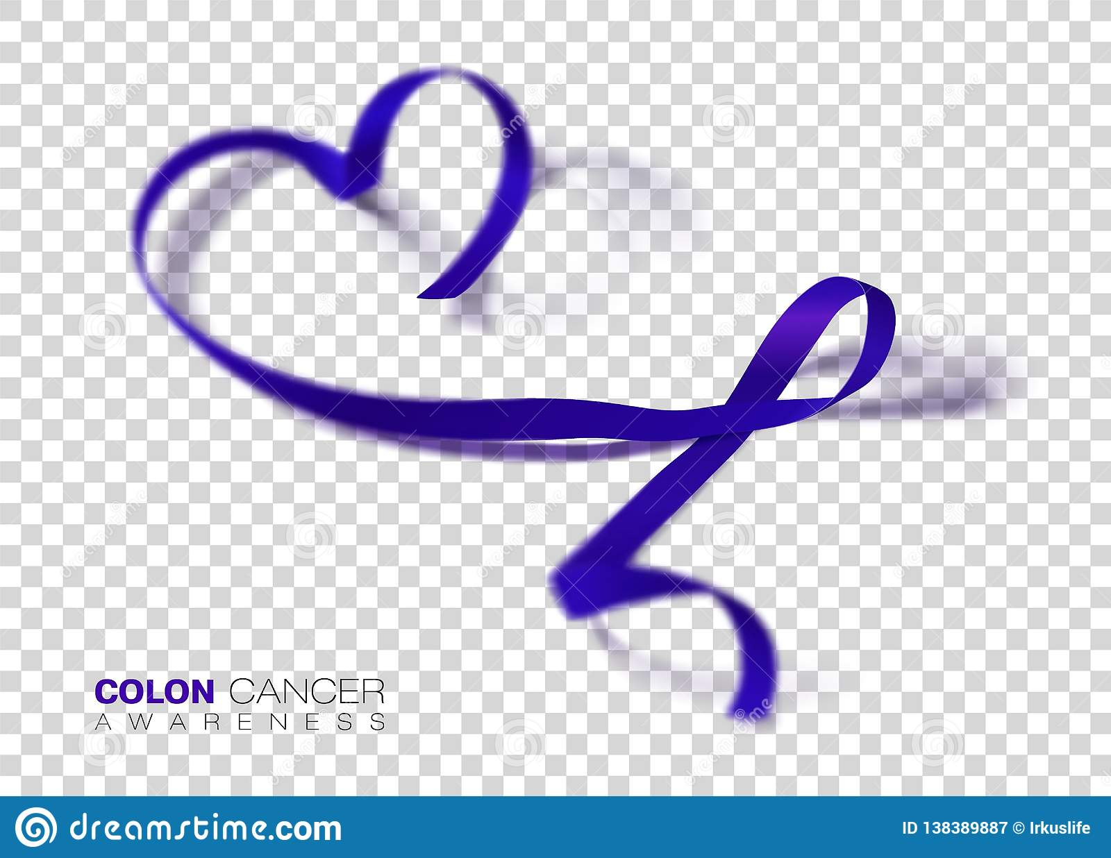 Colon Cancer Awareness Month Dark Blue Color Ribbon Isolated On Transparent Background Colorectal Cancer Vector Design Template Stock Illustration Illustration Of Medicine March 138389887