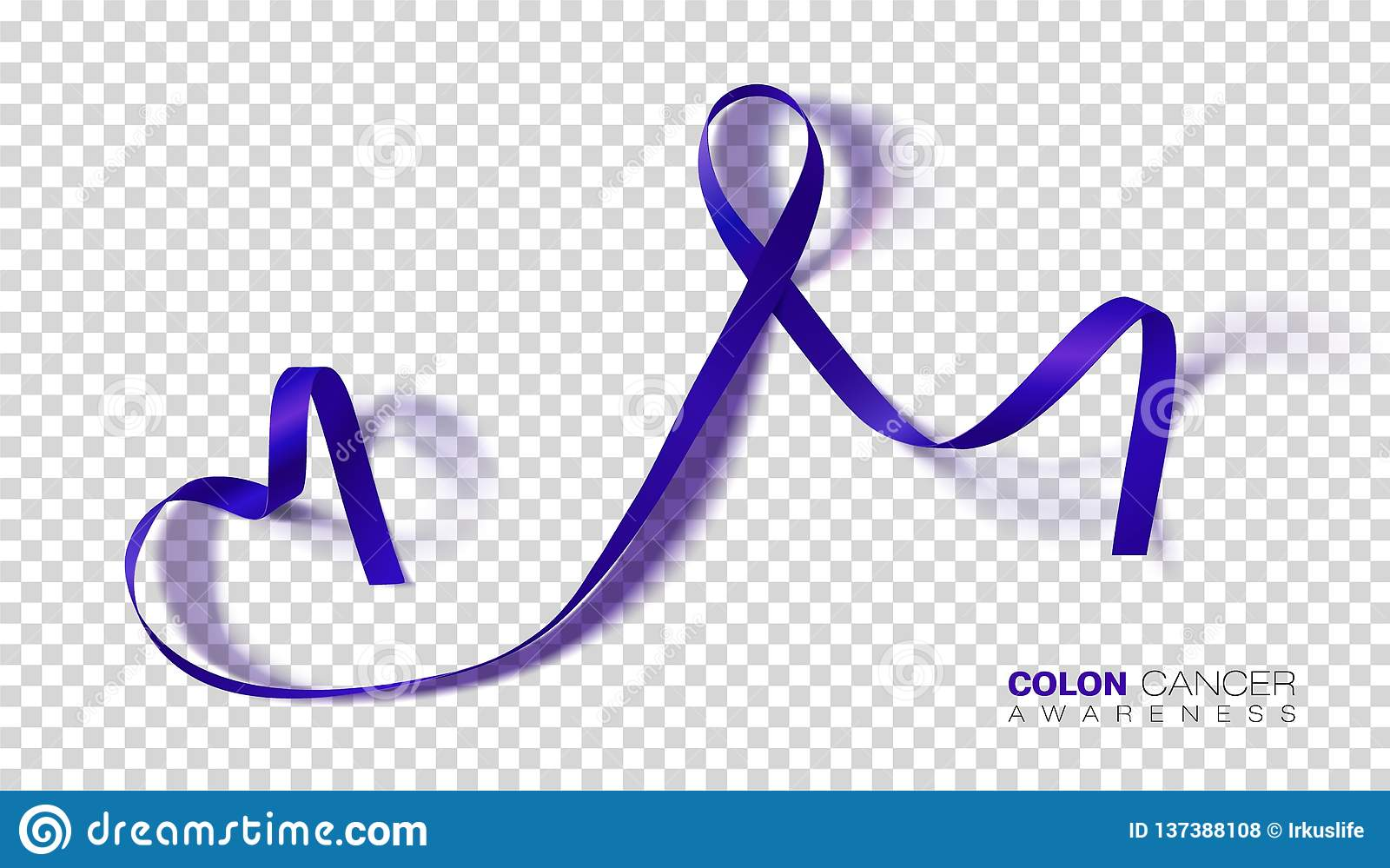 Colon Cancer Awareness Month Dark Blue Color Ribbon Isolated On Transparent Background Colorectal Cancer Vector Design Template Stock Illustration Illustration Of Graphic Background 137388108
