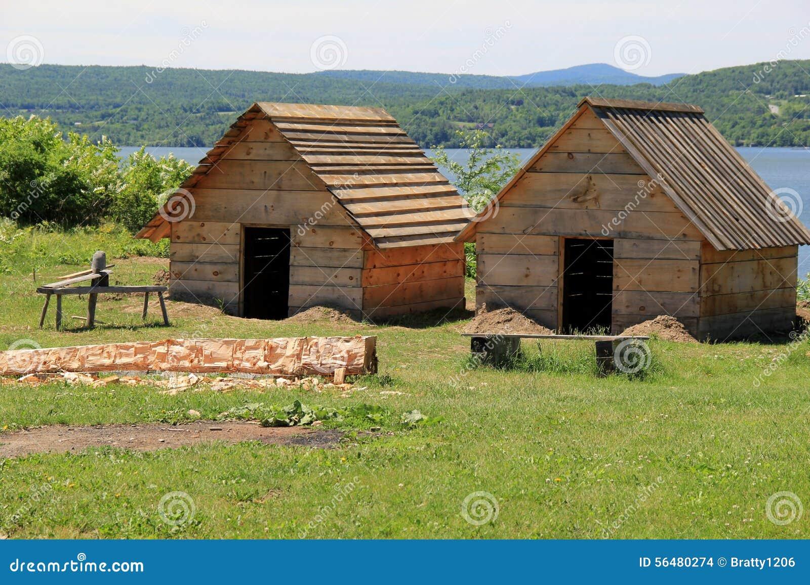 Colonel Anthony Wayne a publié des ordres pour commencer à construire un meilleur logement pour abriter les hommes du régiment, f