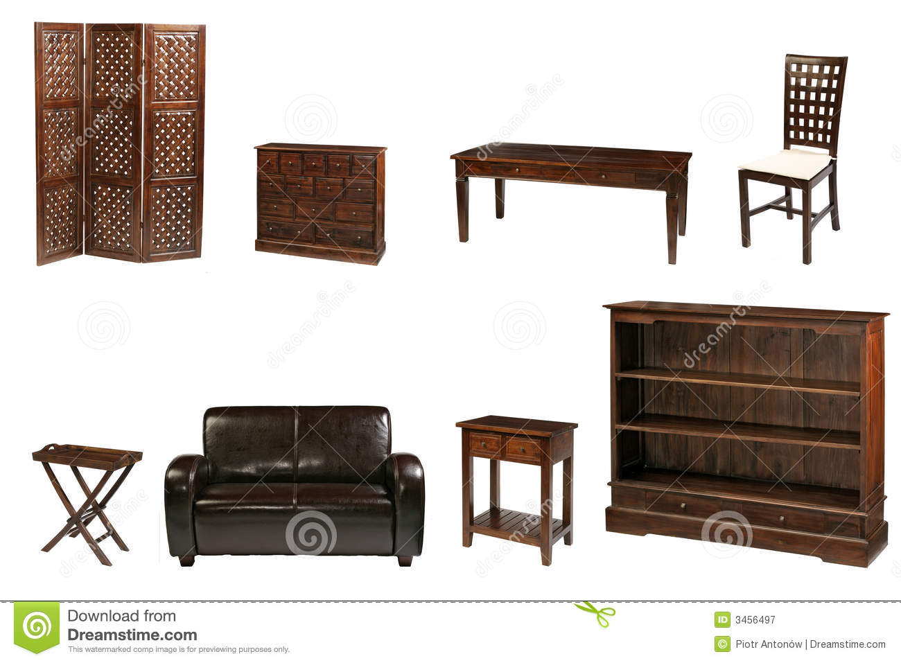 Colonial Furniture Royalty Free Stock Photography Image