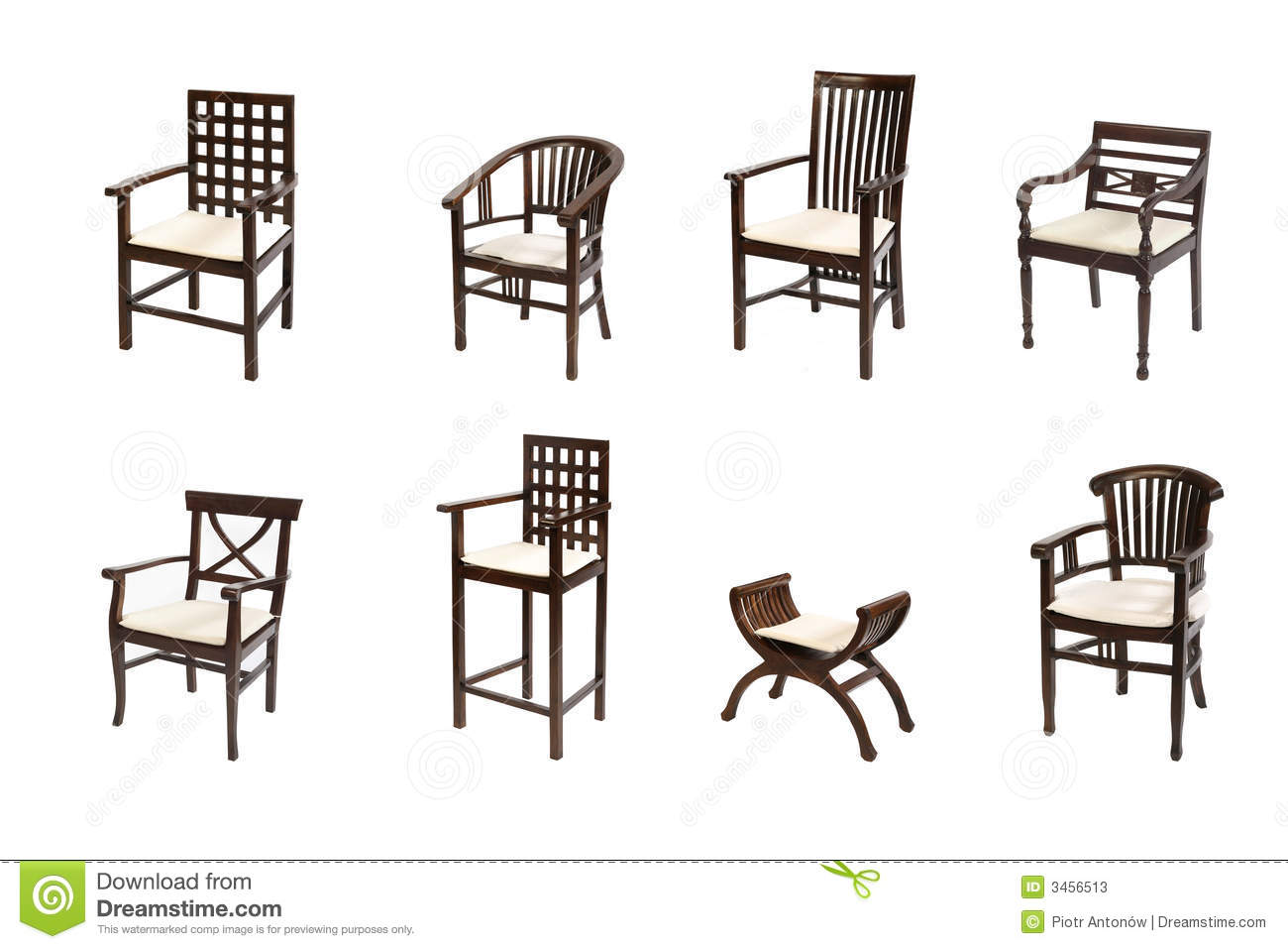Colonial Furniture Stock Photos Image 3456513