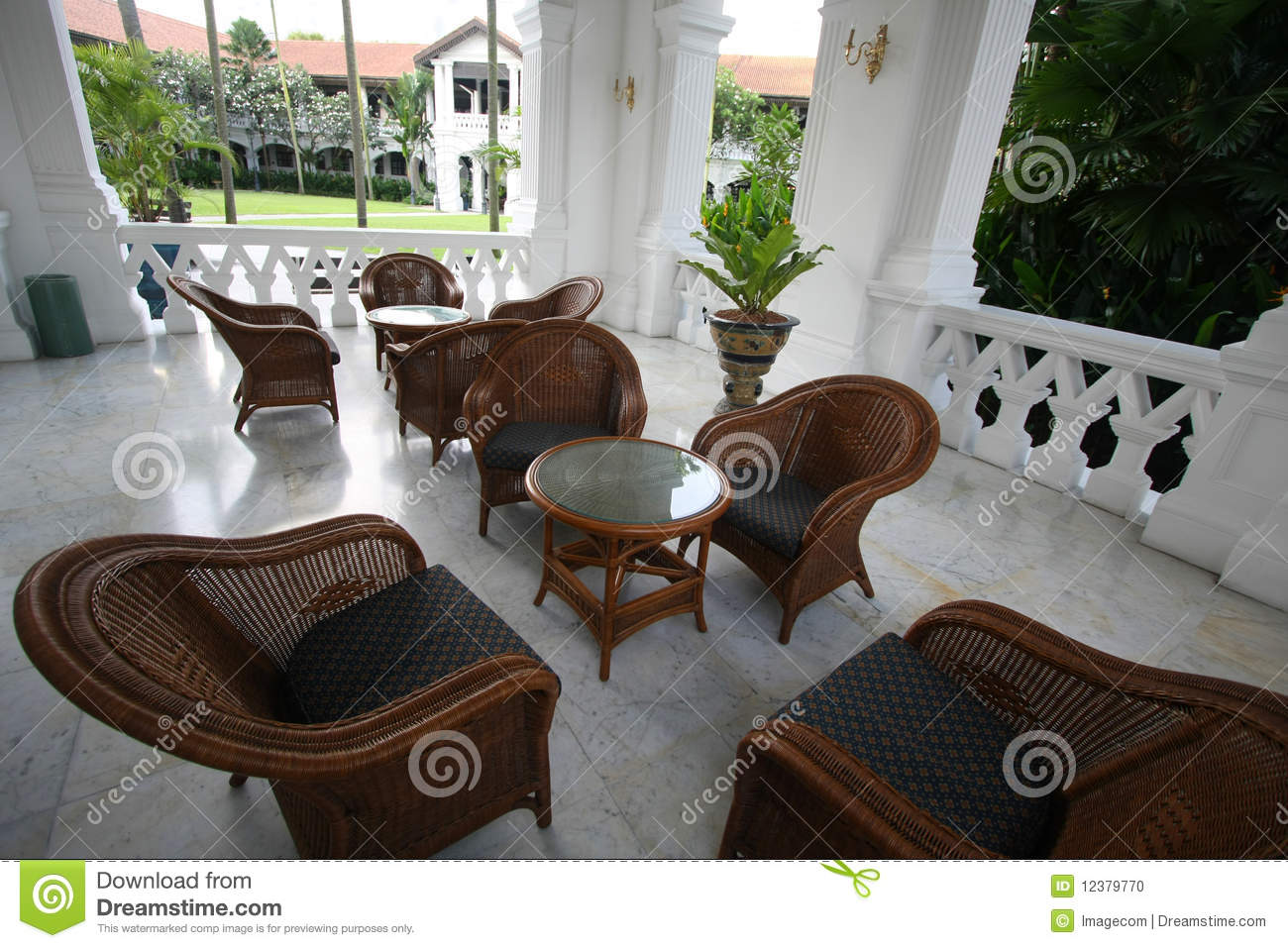 Royalty Free Stock Photo. Download Colonial Outdoor Furniture ... Part 93