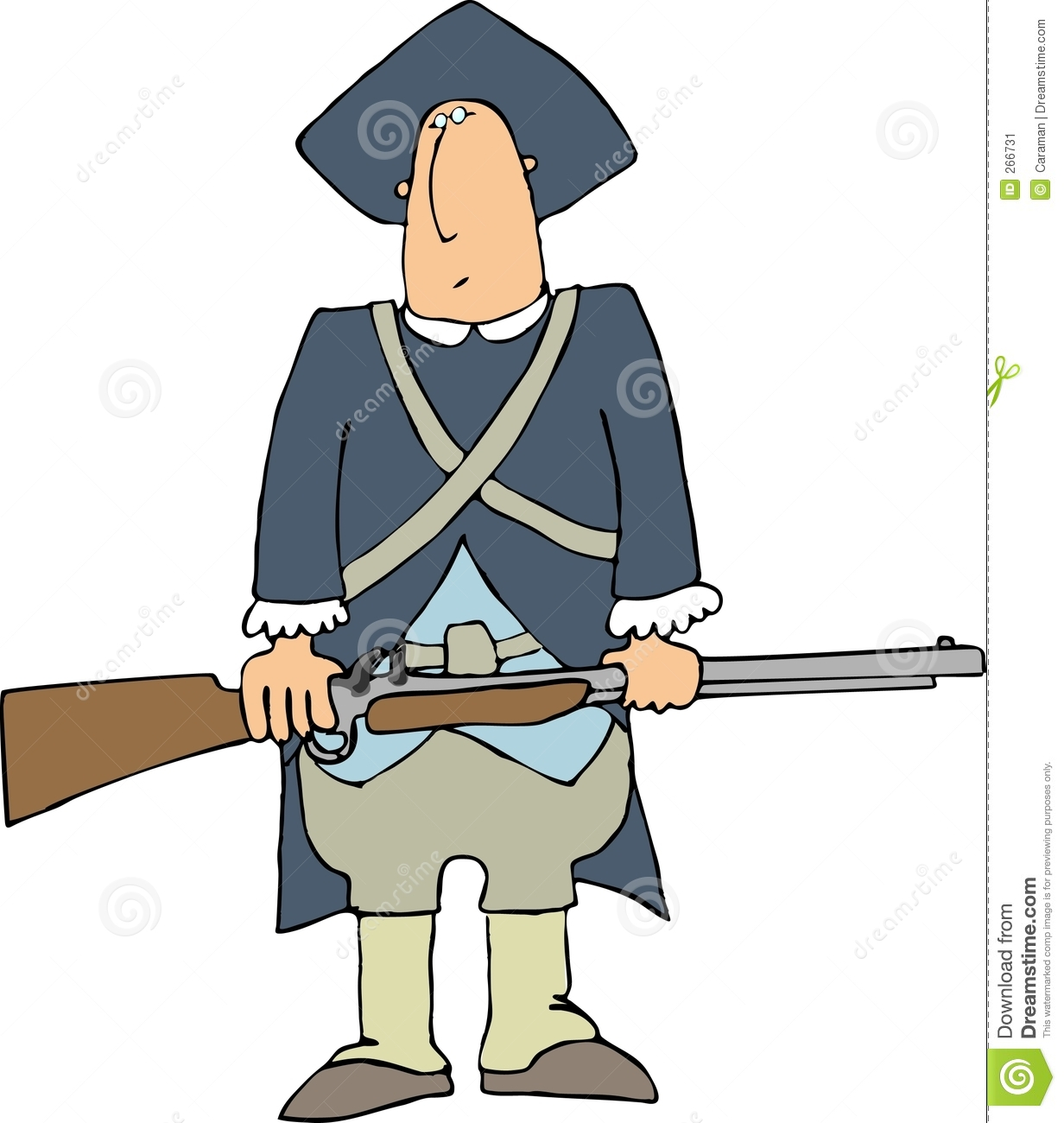 Colonial Soldier Stock Illustrations – 16 Colonial Soldier Stock ...