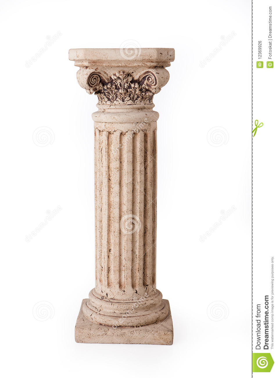 Colonna antica fotografia stock. Immagine di colonna ... Greek Columns Vector