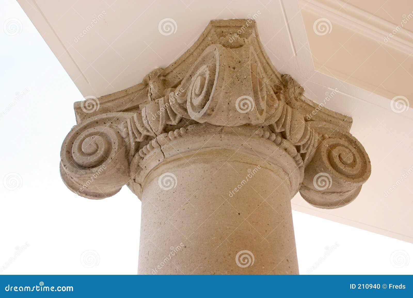 Colonna dettagliata