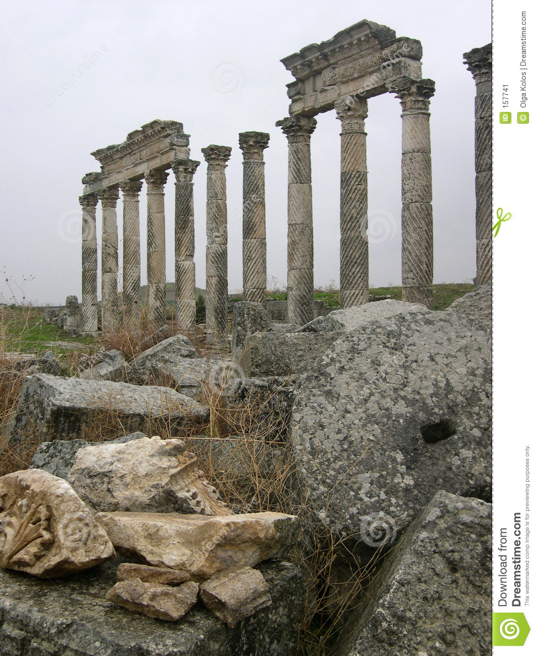 Colonnade in Apamea
